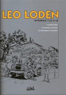 Extrait de Léo Loden (Intégrale) -5- Intégrale 5