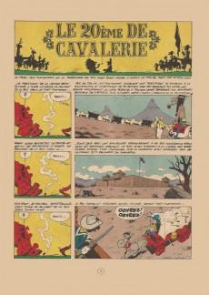 Extrait de Lucky Luke -27a66- Le 20ème de cavalerie