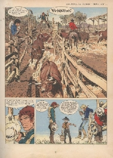 Extrait de Comanche -2'- Les guerriers du désespoir