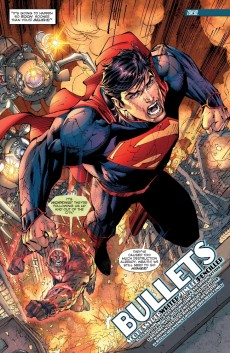 Extrait de Superman Unchained (2013) -4- Bullets