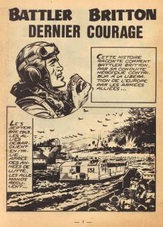 Extrait de Battler Britton -153- Dernier courage - Les Prisons de Poitiers - Les Loups - Les Péniches