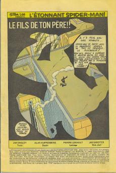 Extrait de L'Étonnant Spider-Man (Éditions Héritage) -191- Guerre des gangs troisième partie
