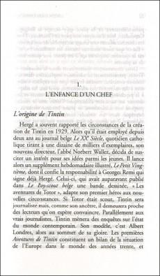Extrait de Tintin - Divers -c- Les Métamorphoses de Tintin