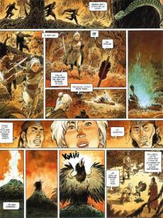 Extrait de Griffe Blanche -2- La révolte du peuple du singe