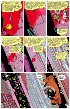 Extrait de Watchmen (1986) -1- At Midnight, All the Agents...