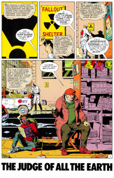 Extrait de Watchmen (1986) -3- The Judge of All the Earth