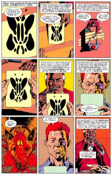 Extrait de Watchmen (1986) -6- The Abyss Gazes Also