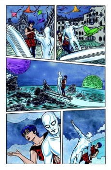Extrait de Silver Surfer Vol.6 (Marvel comics - 2014) -1- Silver Surfer