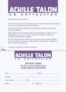 Extrait de Achille Talon - La collection (Cobra) -5- L'indispensable Achille Talon