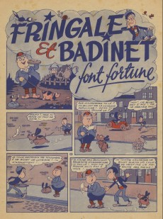 Extrait de Fringale et Badinet -1- Fringale et Badinet font fortune
