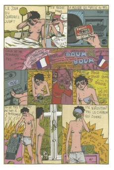 Extrait de Chansons en Bandes Dessinées  -a- Chansons de Brassens en bandes dessinées