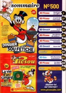 Extrait de Picsou Magazine -500- Picsou Magazine n° 500