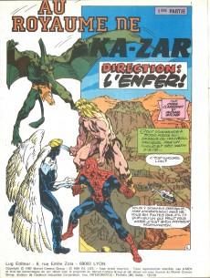 Extrait de X-Men (Les étranges) -Rec02- Album relié N°2