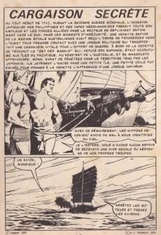 Extrait de Kamikaze (Arédit) -15- Cargaison secrète