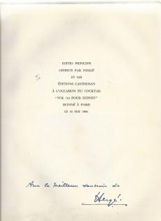 Extrait de Tintin (Historique) -22B37TL- Vol 714 Pour Sydney