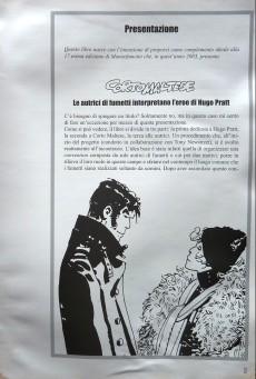 Extrait de (AUT) Pratt, Hugo (en italien) - Corto Maltese - Le autrici di fumetti interpretano l'eroe di Hugo Pratt