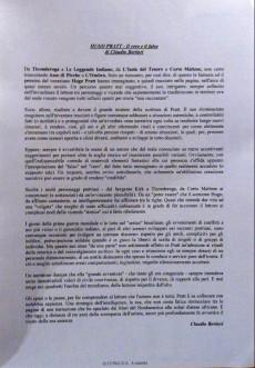 Extrait de (AUT) Pratt, Hugo (en italien) -Cat- Il Corto a Levante
