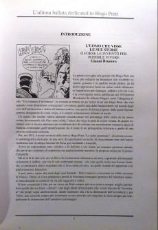 Extrait de (AUT) Pratt, Hugo (en italien) - L'ultima ballata dedicated to Hugo Pratt