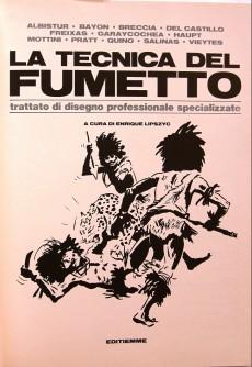 Extrait de (AUT) Pratt, Hugo (en italien) - La tecnica del fumetto