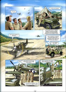 Extrait de L'escadrille des têtes brûlées -4- Corsair contre zéro