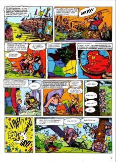 Extrait de Astérix (en espagnol) -1b- Astérix el galo