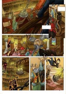 Extrait de Fantasy -1a- La légende des Titans (couleur)