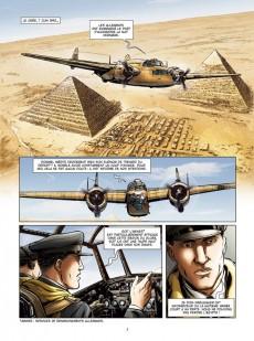 Extrait de Lady Spitfire -4- Desert air force