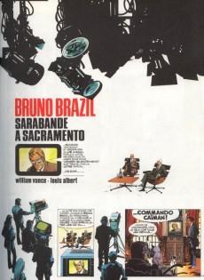 Extrait de Bruno Brazil -6b1982- Sarabande à Sacramento