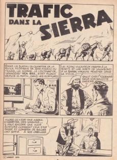 Extrait de Tex Bill -97- Trafic dans la Sierra