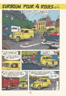 Extrait de Gil Jourdan -6b80- Surboum pour 4 roues
