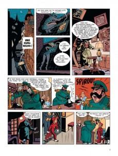Extrait de Spirou et Fantasio (Une aventure de.../Le Spirou de...) -7AT- La Femme-léopard