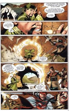 Extrait de Archer & Armstrong -2- La Fureur du guerrier éternel