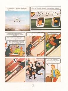 Extrait de Tintin - Divers -C3d- Tintin et le lac aux requins