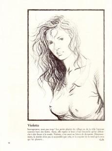 Extrait de Tendre Violette (N&B) -HS1- Parfums de violette