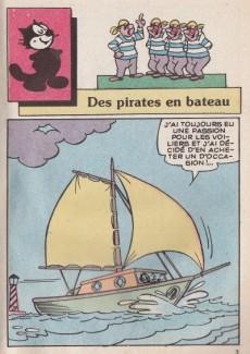 Extrait de Félix le Chat (2e Série - Editions du Château) -24- Des pirates en bateau
