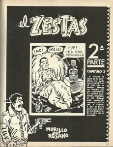 Extrait de Enciclopedia El Víbora - Tome REC
