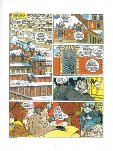 Extrait de Les 7 Vies de l'Épervier -2GF1997- Le temps des chiens