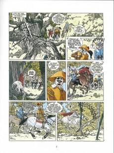Extrait de Les 7 Vies de l'Épervier -4c1992- Hyronimus