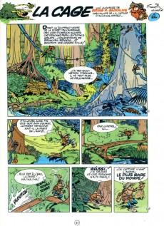 Extrait de Spirou et Fantasio -24c85- Tembo Tabou