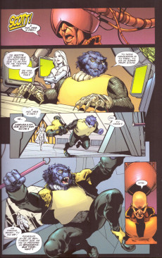 Extrait de X-Men (New) (Marvel Select) -4- Planète X