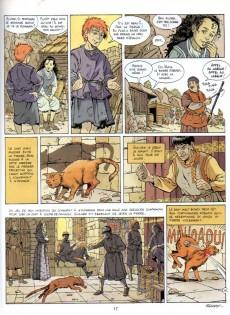 Extrait de Les aigles décapitées -7a- La prisionnière du donjon