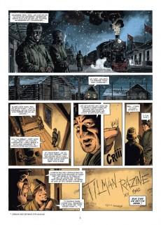 Extrait de La grande évasion -8- La ballade de Tilman Razine