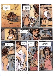 Extrait de Les quatre voyages de Juan Buscamares -1- Les eaux mortes