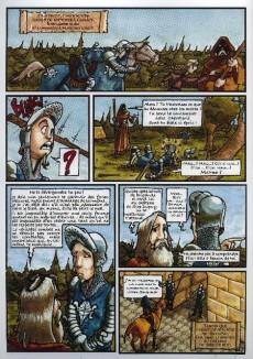 Extrait de Les seigneurs Magiciens -1- Le Chevalier à la Fleur