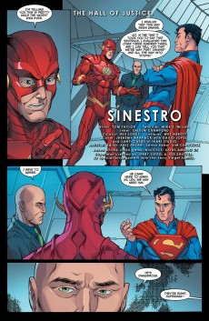 Extrait de Injustice: Gods Among Us: Year Two (2014) -4- Sinestro rises