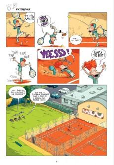 Extrait de Tennis Kids -1- Ramasseurs de gags