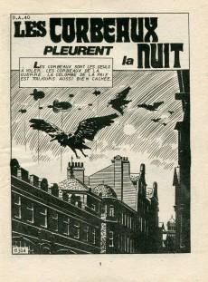 Extrait de Z33 agent secret -120- Les corbeaux pleurent la nuit