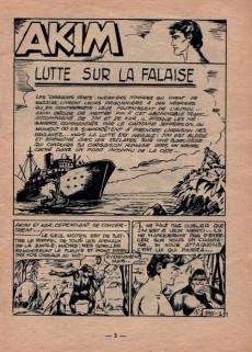 Extrait de Akim (1re série) -195- Lutte sur la Falaise