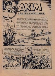 Extrait de Akim (1re série) -173- L'Île de la Mort lente