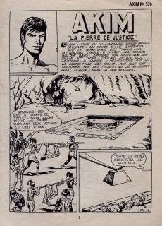 Extrait de Akim (1re série) -570- La Pierre de Justice